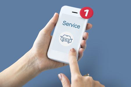 Car Service Icon sign Symbol