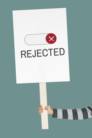 Bloqueado No disponible Rechazo Accesibilidad cerrado Foto de archivo - 82839466