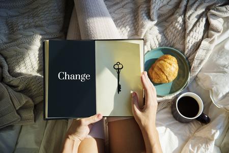 Significant Change Solutions Answers Solve Concept Banco de Imagens - 82841309