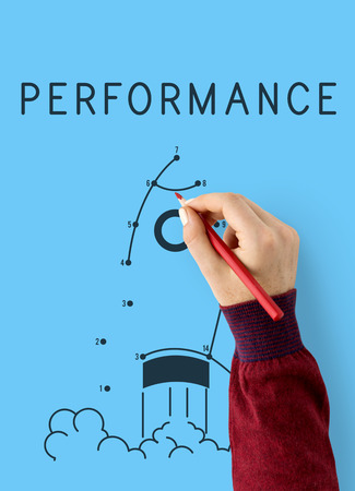 Performance Way to Success Target Icon
