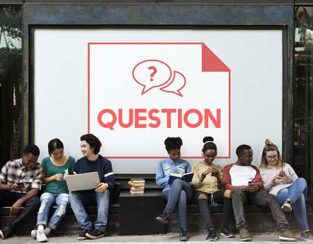 more mature: Faq Frequently Asked Questions Customer Service Stock Photo