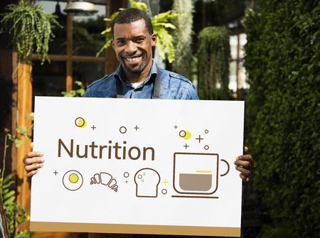 バランス ダイエット健康的な栄養の概念