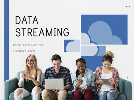 techie: Cloud Storage Digital Sync Streaming Technology