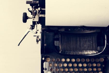 레트로 타자기 기계 올드 스타일 스톡 콘텐츠