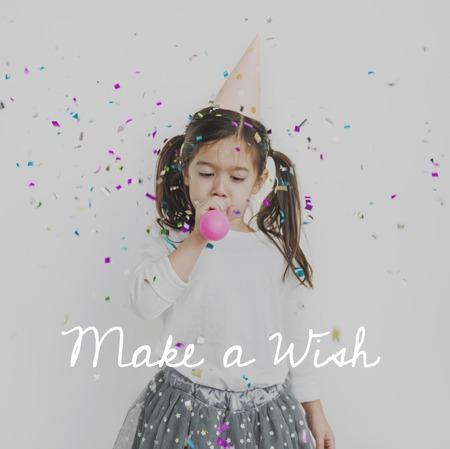 Make a Wish Happiness Celebration Joyful