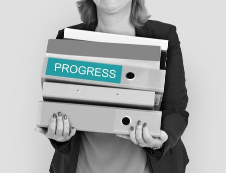 Progress Business Improvement Development Advancement Imagens