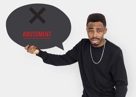 Cyber Bullying Abusement Harassment Trolling Stock Photo