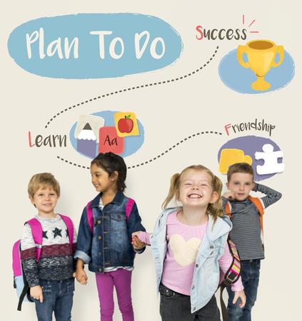 활동 계획 어린이 Infographics 영감