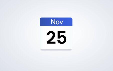 Illustration des Kalenderplanes persönlicher Organisator Standard-Bild - 82941193