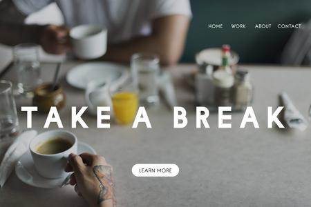 grabing: Break Relax Relief Rest Stop