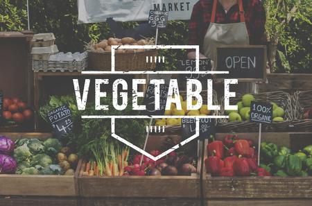 Healthy food organic fresh farmer products Stok Fotoğraf - 82946354