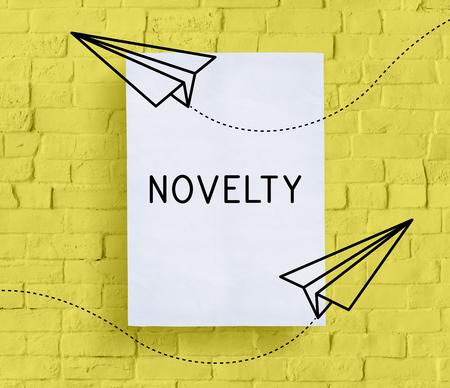 Kreatives Design Ideen Neuheit Illustration