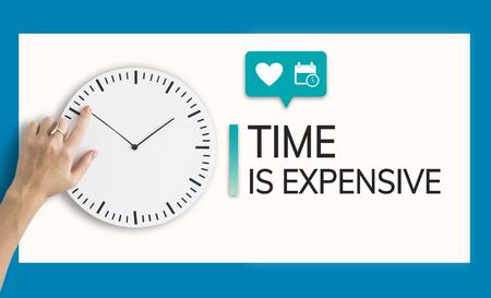 Save Time Save Money Concept 版權商用圖片