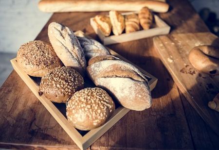Bread Shop Bake Dough Flour Bakery
