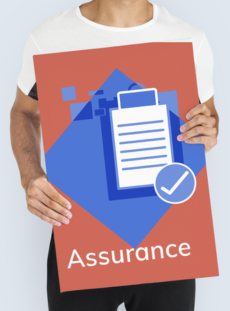 Quality Assurance Control Development Guarantee Reklamní fotografie
