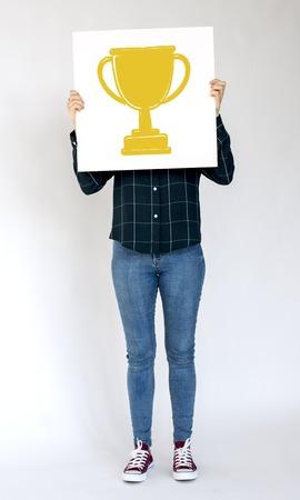 Excellence success achievement motivation victory Stock Photo - 82952122