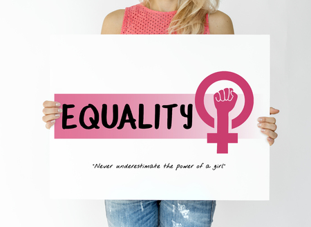 Women rights girl power equality gender