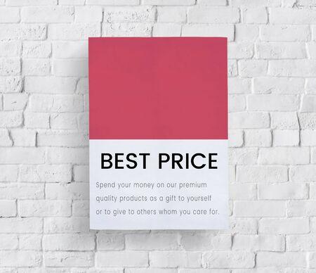 Meilleur prix premium vente notion Banque d'images - 83008290