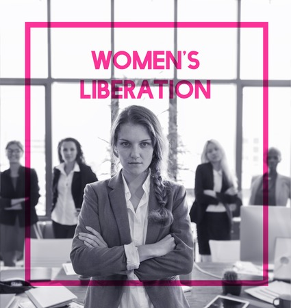 Woman Equality Gender Rights Liberation Stok Fotoğraf