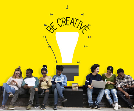 Be Creative Inspiration Imagination Concept Stock Photo
