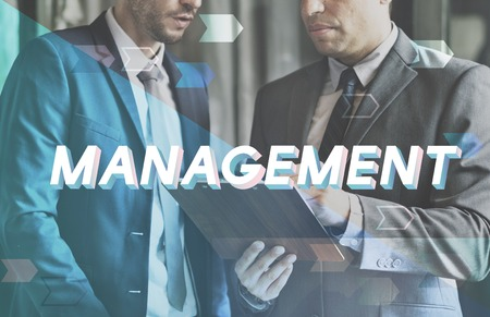 Management Organisatie Strategie Business Process Stockfoto