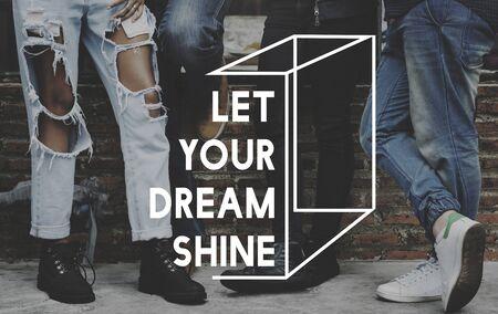 Let Your Dream Shine Life Motivation Inspiration