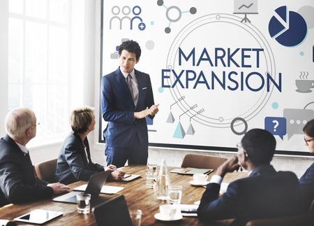 事業投資開発ベンチャー市場拡大 写真素材 - 83024952