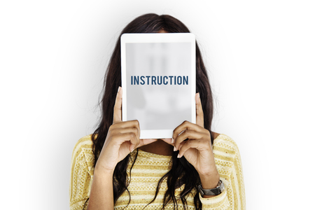Instruction Direction Installation Regulations Guideline Reklamní fotografie