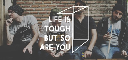 tough: Life is Tough But So Are You Motivation Inspiration