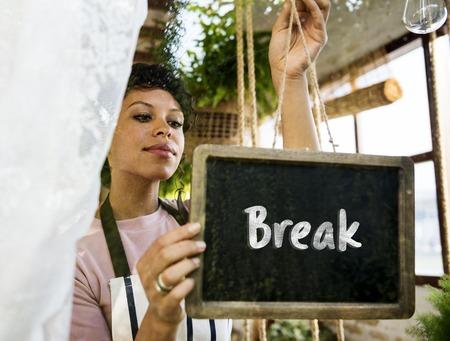 Positivity Freedom Break Time Word Stock Photo