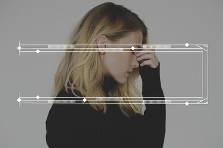 エンブレム アイコン バナー バッジ 写真素材