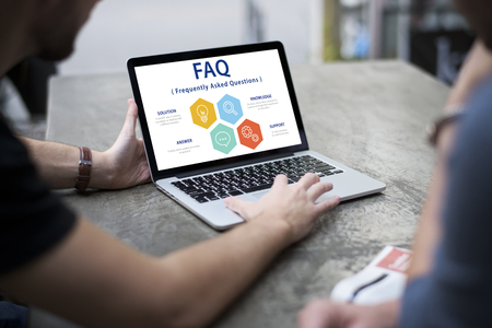 FAQ Frequently Asked Questions Customer Service Support Stok Fotoğraf - 82956113