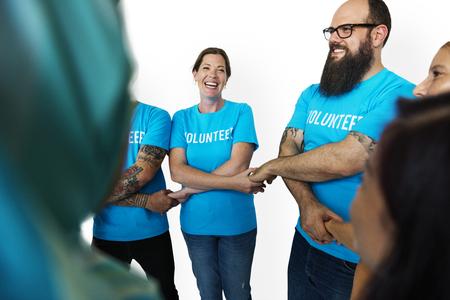 Group of People Volunteer Concept