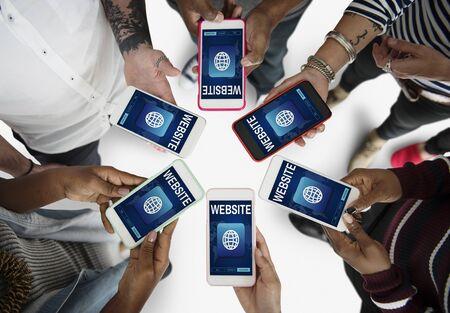 techie: Website Webpage Information Content Concept