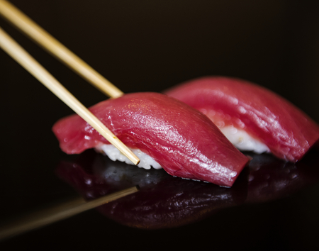 maguro: Maguro sushi japanese food healthy