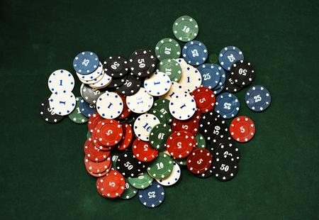 ギャンブル賭けカジノリスクチャンス 写真素材