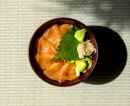 일본 산 연어 구이 스톡 콘텐츠