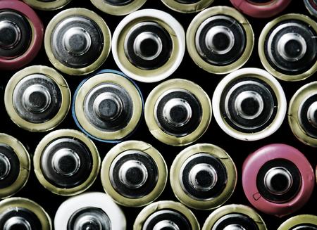 アルカリ電池の背景の様々 な 写真素材