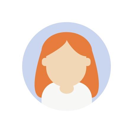 Vecteur d & # 39 ; icônes avatar sur fond blanc. Banque d'images - 85323658