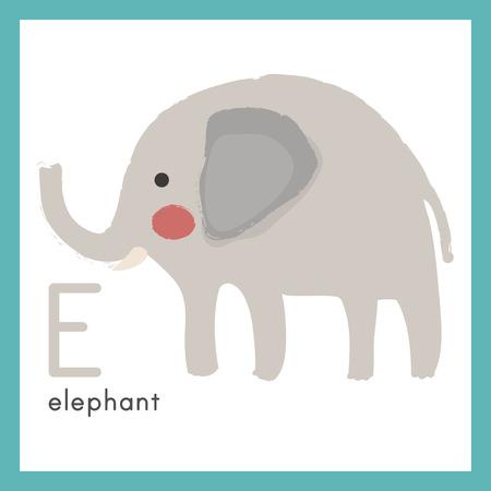 Ilustración alfabeto del alfabeto de aprendizaje para los niños - alfabeto Foto de archivo - 86104106