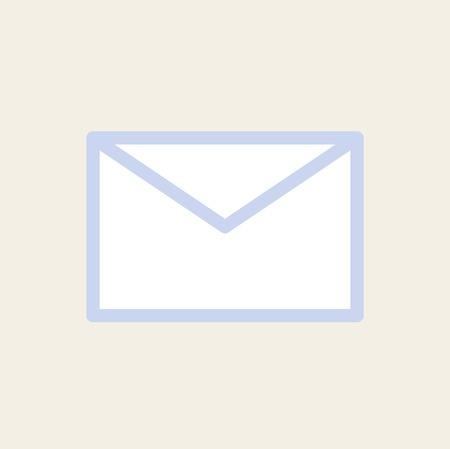 Vettore icona del messaggio Archivio Fotografico - 85344206