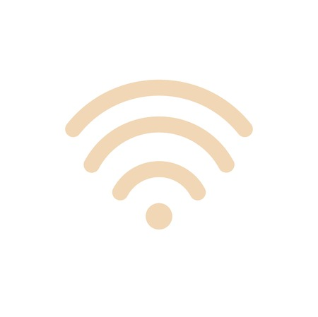 Vector of wireless communication icon