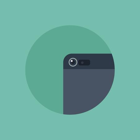Vector of smartphone camera Ilustração