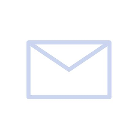 Vector of message icon