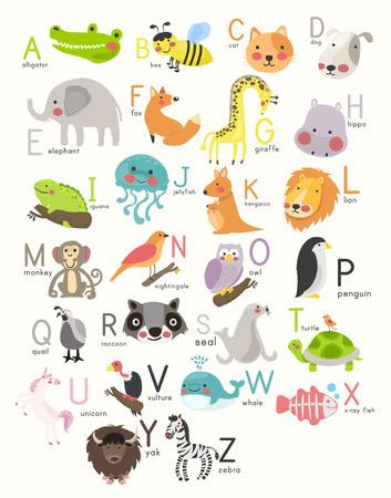Estilo de ilustración Gráfico de aprendizaje de alfabeto. Foto de archivo - 86104145
