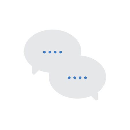 メッセージ バルーン アイコンのベクトル