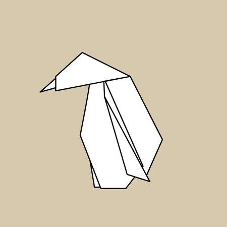 Animal origami vector Stok Fotoğraf - 85322745
