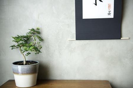 Interior home design oriental japanese style