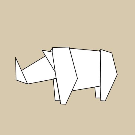 Animal origami vector 版權商用圖片 - 85968949