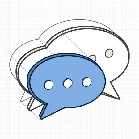 Illustration of speech bubble